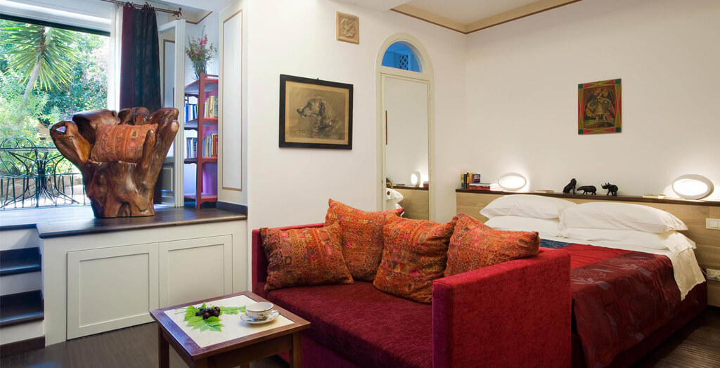 suite marrone villa giulia roma
