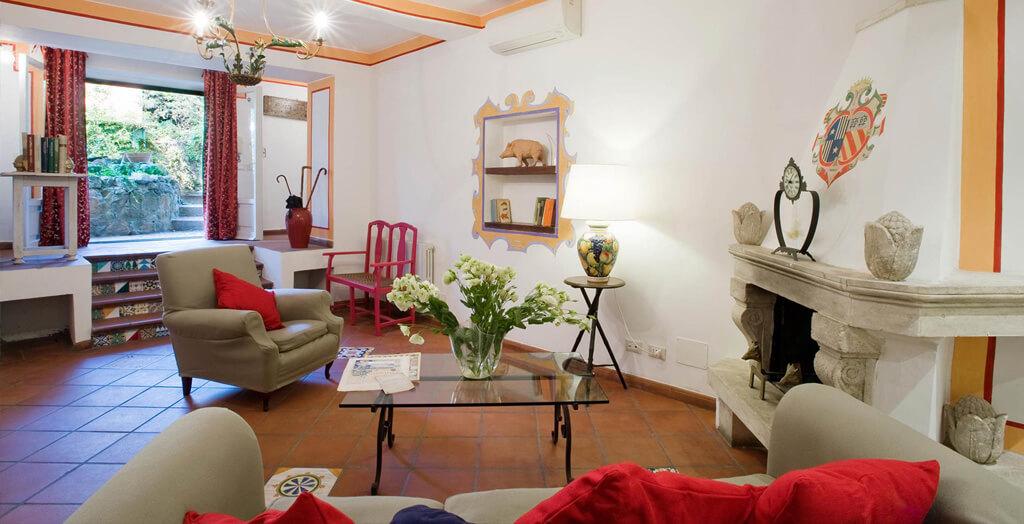 Suite rossa villa giulia roma